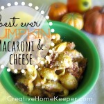 Best Ever Pumpkin Macaroni and Cheese