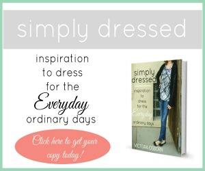 Simply Dressed: Inspiration for the {Everyday} Ordinary Days