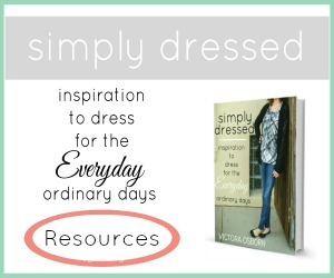All the great resources mentioned in the book plus so much more, the Simply Dressed resources page contains free printables to download as well as product recommendations mentioned throughout the book. This is your one-stop-shop to get the most out of your Simply Dressed journey! | CreativeHomeKeeper.com