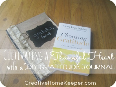 Cultivating a Thankful Heart with a DIY Gratitude Journal