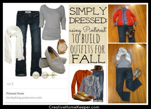 Using Pinterest to Build Outfits for Fall {Simply Dressed}