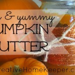 Easy and Yummy Pumpkin Butter