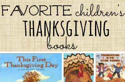 Favorite Children's Thanksgiving books featured
