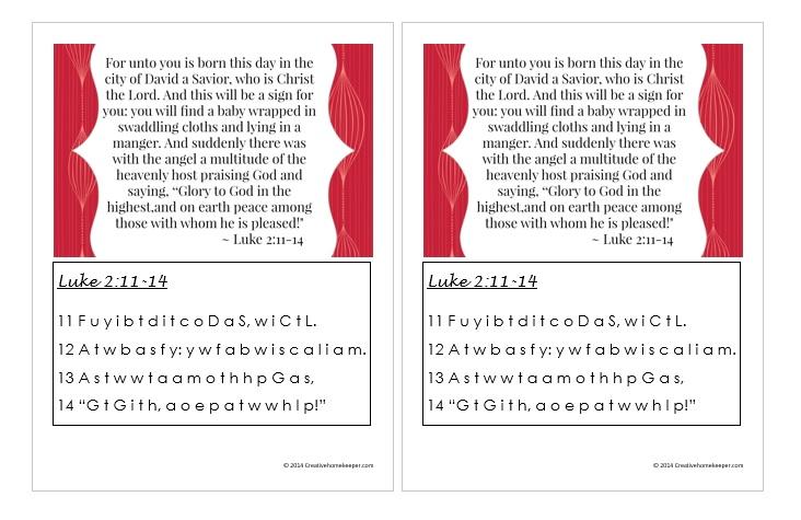 Luke 2 11-14 screenshot