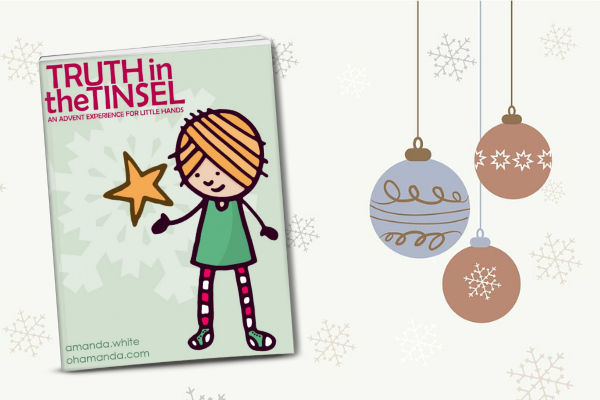 Looking for a complete, all-in-one, Bible based Advent countdown and devotional to do with your kids? Check out Truth in the Tinsel: An Advent Experience for Little Hands. Create memories and teach your children the real story of Christmas this year!