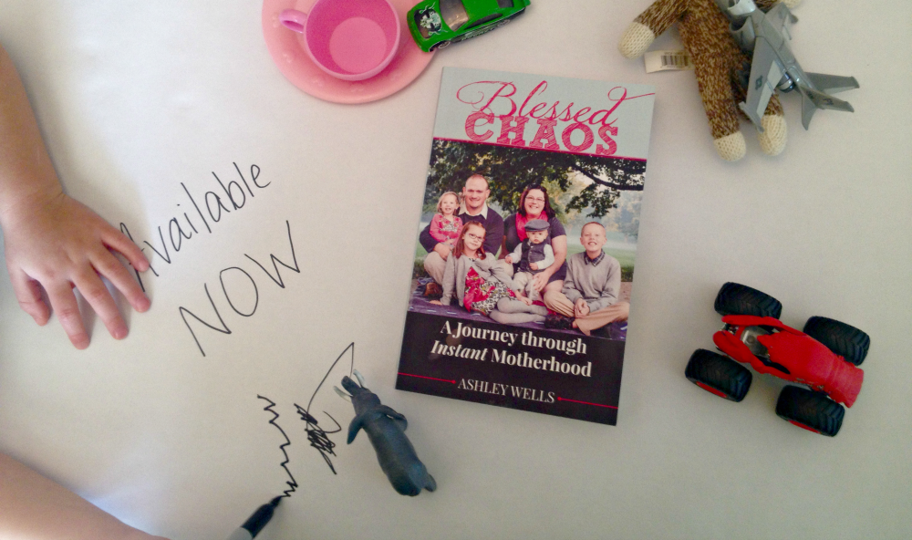 Blessed Chaos: A Journey to Instant Motherhood by Ashley Wells {Book Notes Link Up}