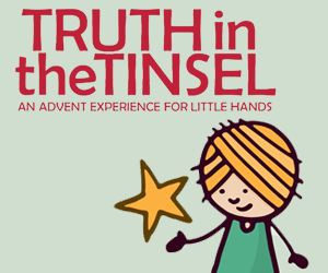 Looking for a complete, all-in-one, Bible based Advent countdown and devotional to do with your kids? Check out Truth in the Tinsel: An Advent Experience for Little Hands. Create memories and teach your children the real story of Christmas this year, plus I have an exclusive coupon code just for you! | CreativeHomeKeeper.com