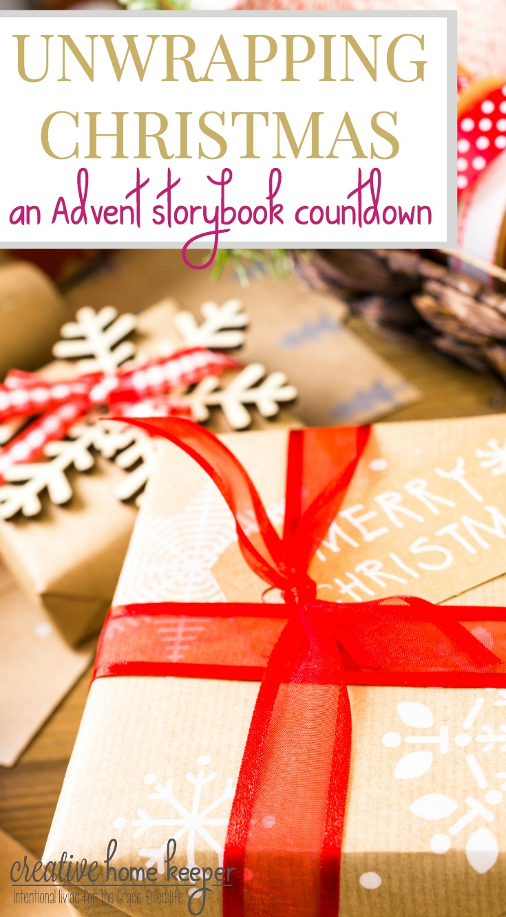 Build memories and teach your children the true meaning of Christmas with this fun Advent storybook countdown collection of books the whole family will love. 24 books that both focus on Christ's birth but also a few the include the fun traditions of the holiday season.