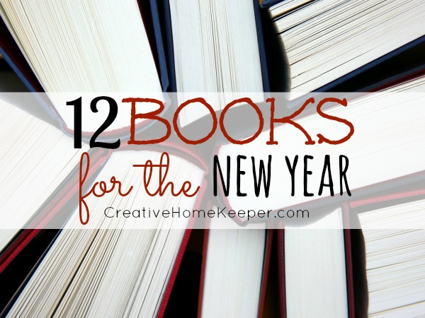12 Books for the New Year, a goal to read at least one book a month for the entire year.