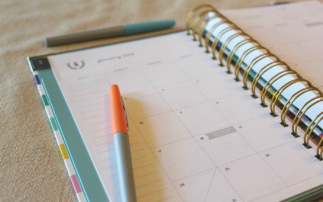 4 Things to Include When Setting Up Your New Planner