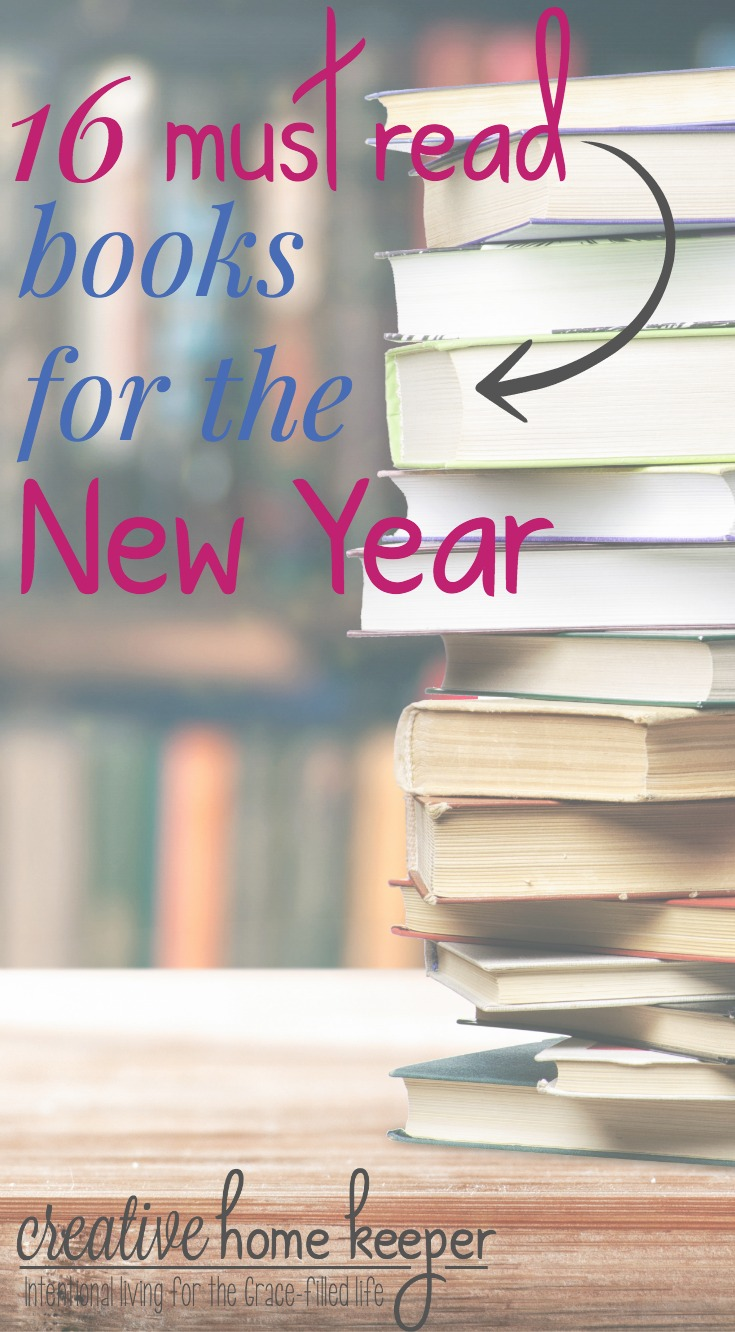Looking for resources to start the new year off on the right foot? Check out this list of must-read books to get you ready for the New Year with intention and purpose!