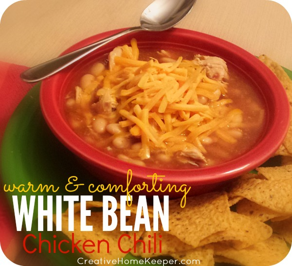 Easy and Comforting White Bean Chicken Chili