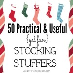 50 Practical and Useful (Yet Fun) Stocking Stuffers