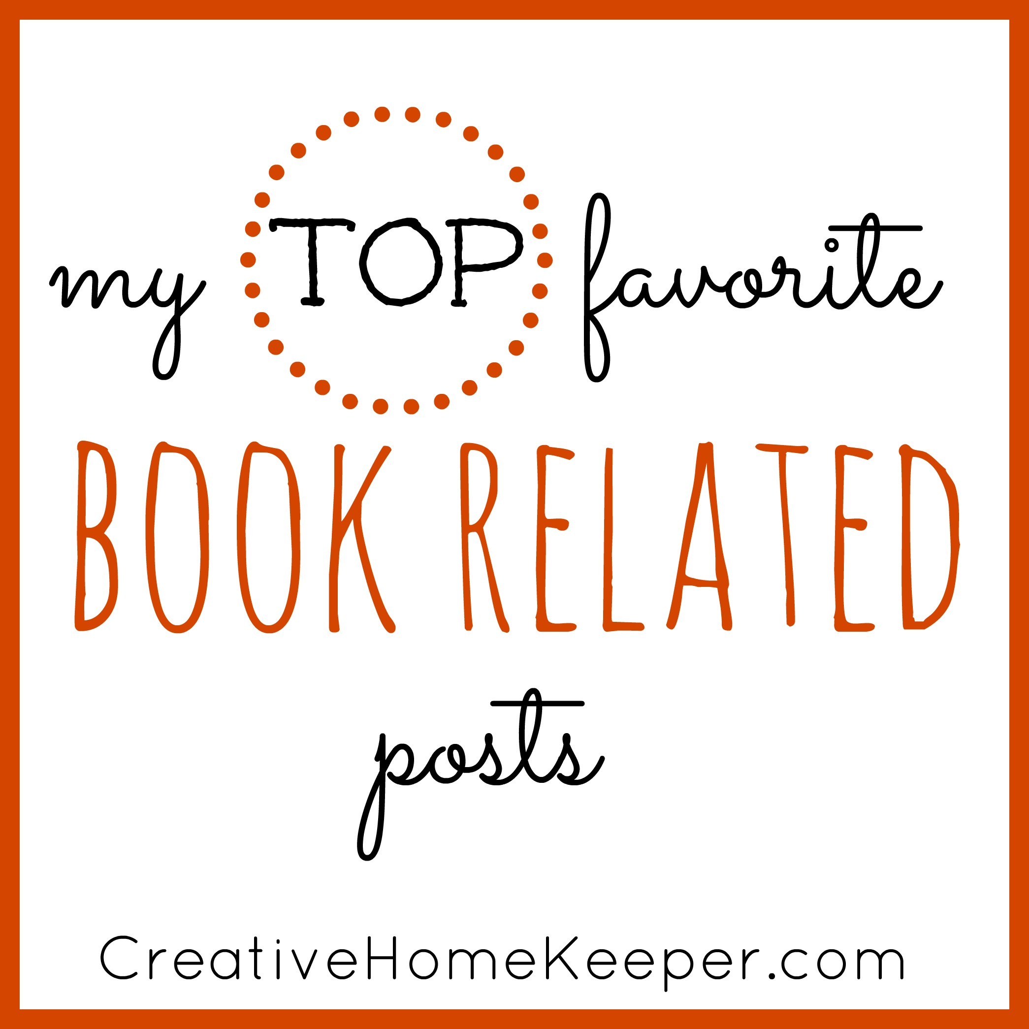 My Top Favorite Book Related Posts