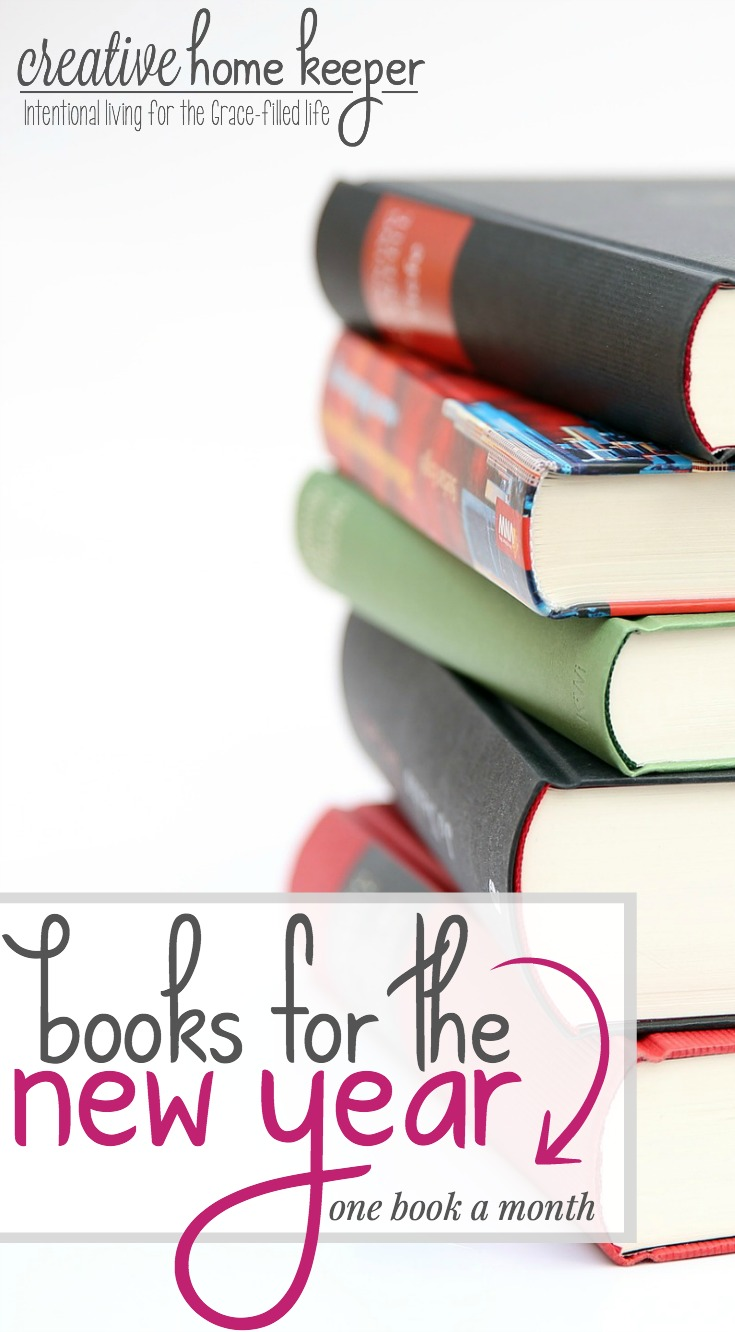Do you set reading goals? You should! This year make the big goal of 12 Books for the New Year, a goal to read at least one book a month for the entire year, a reality.