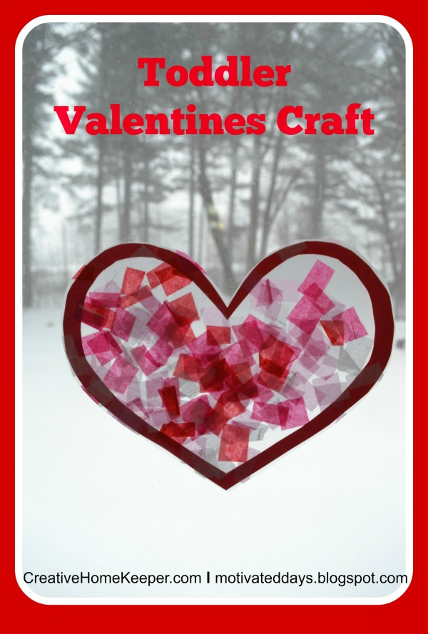 Toddler Valentines Day Craft Creative Home Keeper