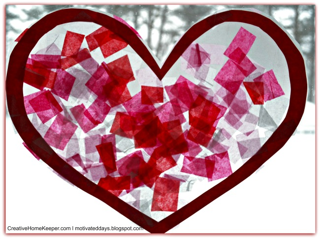 Toddler Valentine's Day Craft