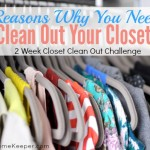3 Reasons Why You Need to Clean Out Your Closet {Join the 2 Week Closet Clean Out Challenge!}