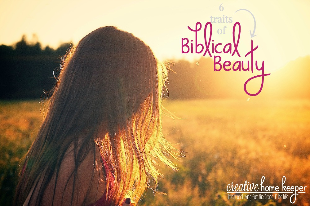 Biblical beauty is often not acknowledged or sought after in this day and age. It's not popular and often times it's downright controversial. But as women who love God with all our hearts, and women who not only want to look good on the outside, we should be seeking to be made beautiful in God's eyes.