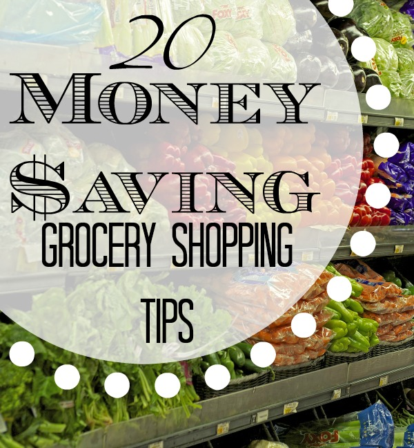 Save time and money with these grocery shopping tips that are tried and true for busy moms.