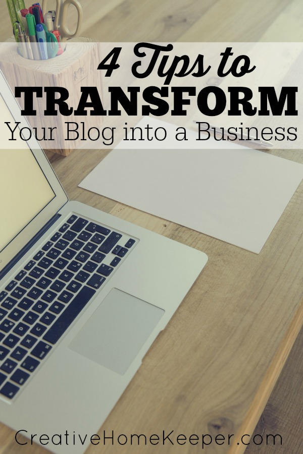 4 tips to transform you blog into a business, whether you have been blogging for a while or are a newbie, these thoughtful and intentional tips can help you grow and maintain your blog authentically.