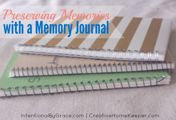 Preserving memories with a memory journal is an easy way to capture those special moments and events in your children's lives. It's a keepsake to be cherished for years to come.