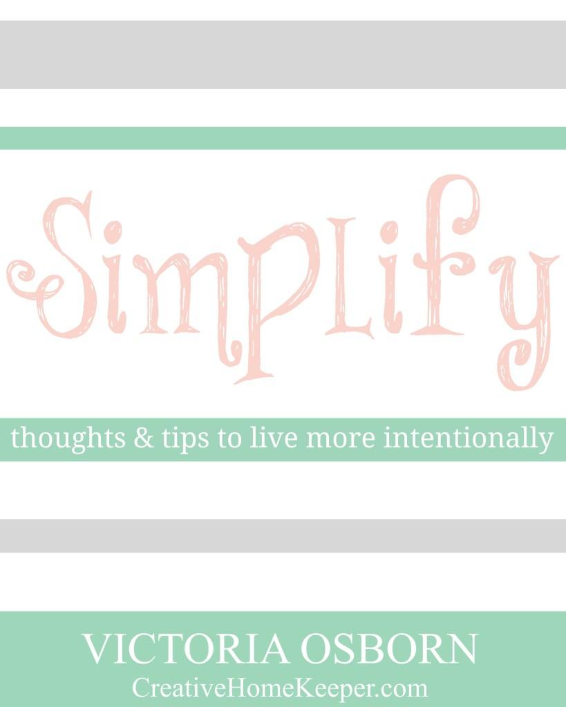 Simplify eBook Cover