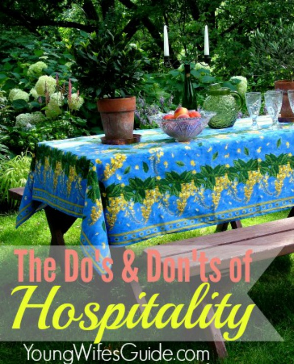 Hospitality is a way we welcome and serve one another. It's an invitation into your home, a way to build deeper friendships and it's one way we can model the love of Christ. Hospitality doesn't have to be overwhelming nor does it have to add anymore to your ever growing to-do list. In fact here are some easy do's and don't of hospitality to keep in mind.