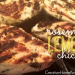 Savory Rosemary Lemon Grilled Chicken