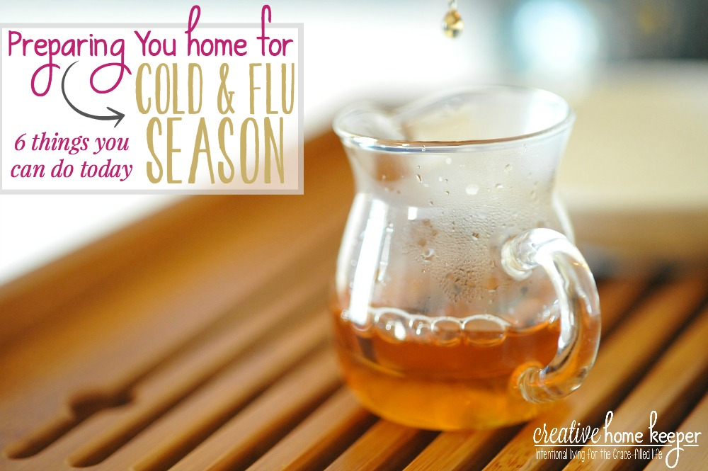 It's unavoidable, cold and flu season will be arriving shortly but we don't have to take it laying down. Prepare your home for cold and flu season with these simple tips to keep everyone healthy and happy.
