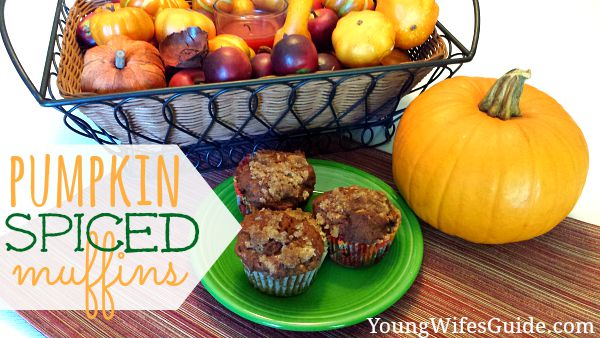 Perfect for fall, these pumpkin spiced muffins are a tasty treat your family will love all season long. Paired with a hot cup of coffee or favorite pumpkin latte, these pumpkin spiced muffins are the perfect way to begin (or even end!) your day!