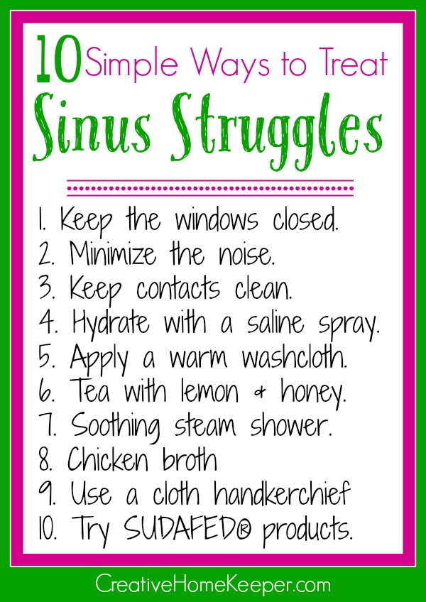 Sinus pain, congestion and headaches is a real struggle! But you don't have to suffer anymore with these simple relief tips plus you can enter to win a $25 gift card to help you stock your medicine cabinet to treat all your sinus needs this cold and flu season.