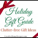 Clutter-Free Gift Ideas {Holiday Gift Guide}