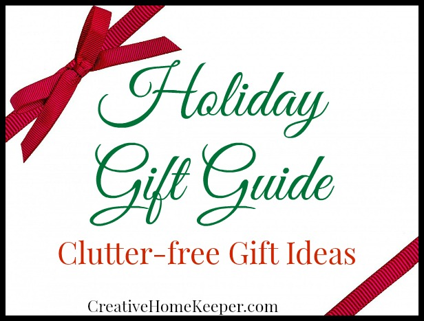 Looking for some practical, creative and clutter-free gift ideas to give this year? Check out this complete list of various options that should please just about anyone on your lift this year.