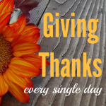 Giving Thanks Everyday