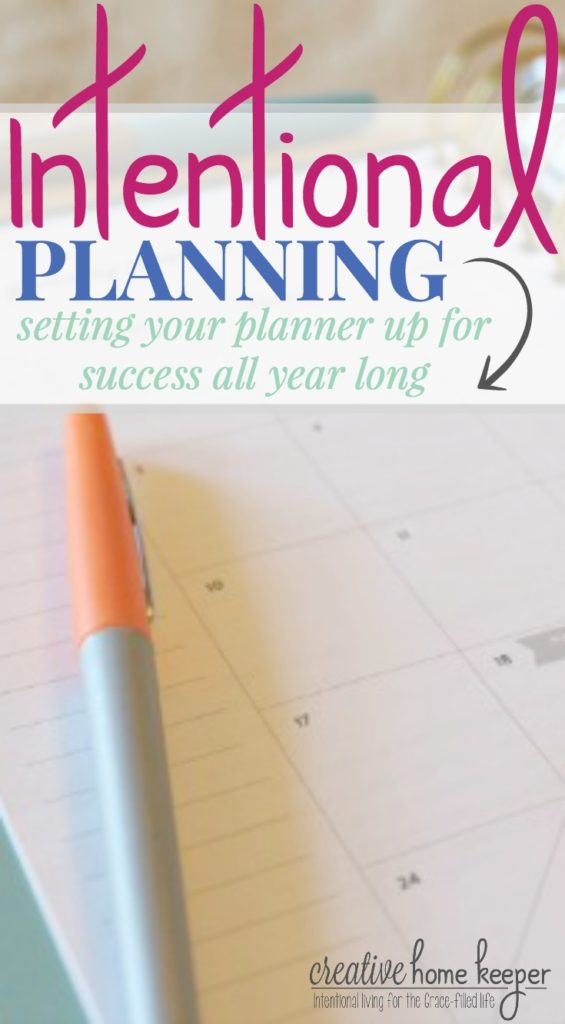 Taking some time to be intentional about setting your planner up at the start of the year not only helps to be more productive and better track your goals but also encourages you to really examine your priorities. This detailed planner set up will walk you through step-by-step the process to be truly intentional with your planning this year!