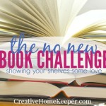 The No New Book Challenge: Why I'm Showing My Bookshelves Some Love This Year