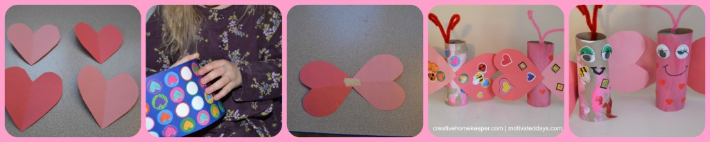 Get creative with your child with this adorable Love Bug Valentine Craft! Easy to complete using already on-hand supplies and let's your child practice those fine motor skills and create a truly one of a kind masterpiece!
