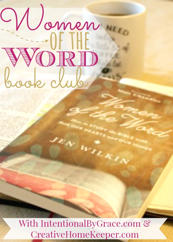 Did you miss the first Women of the Word Book Club Meeting? Not to worry! We recorded the session!
