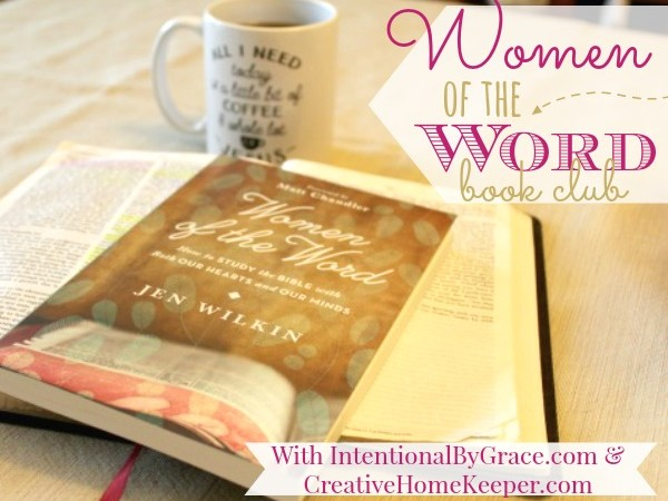 Women of the Word Recap {Week 5}