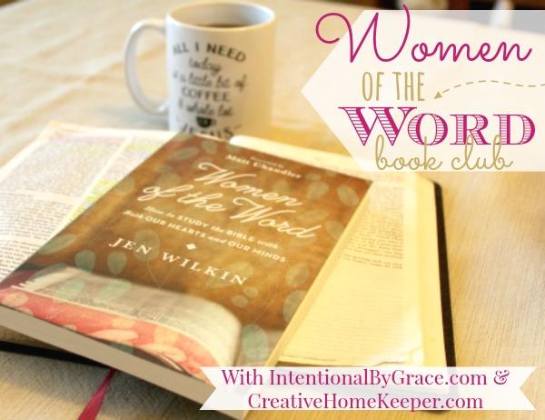 Women of the Word Recap {Week 5}
