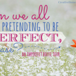 Can We Stop Pretending to Be Perfect, Please?