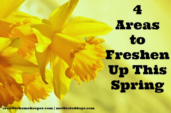 4 Areas To Freshen Up This Spring