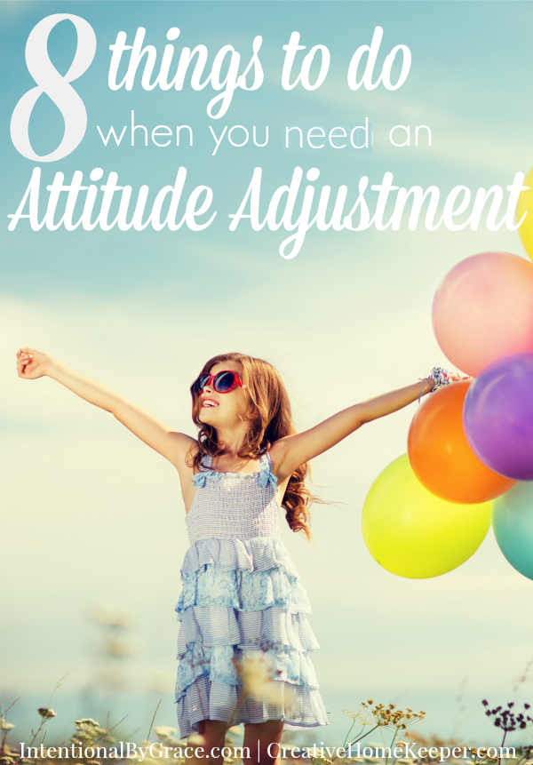 You know those days when you just wake up grouchy, grumpy and in need of an major attitude adjustment? We all have them but instead of letting our attitudes ruin our whole day, try one of these 8 simple strategies to transform your mood.