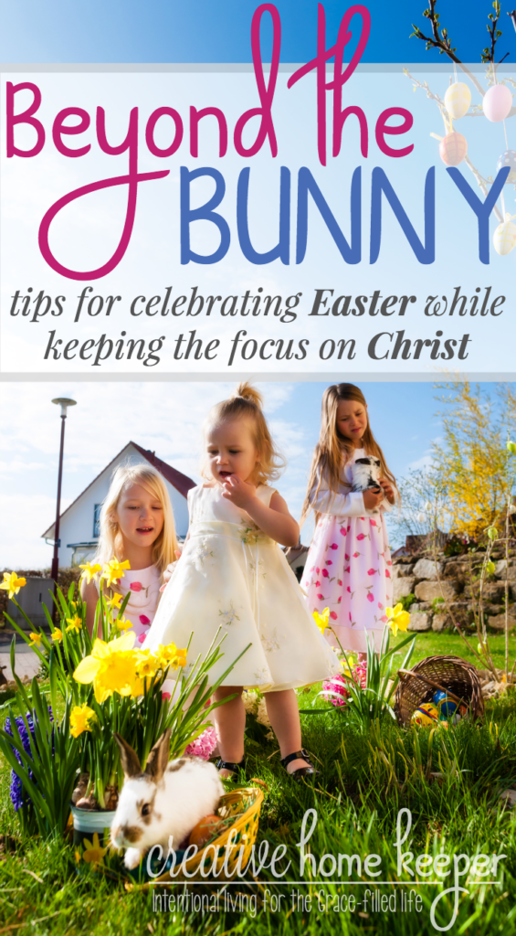 Do you want to celebrate Easter AND keep the focus on Christ? These 7 fun, family activities and ideas are perfect for not only sharing the story of Christ's resurrection in age appropriate detail but also help to plant seeds of faith and hide God's Word in your little one's hearts.
