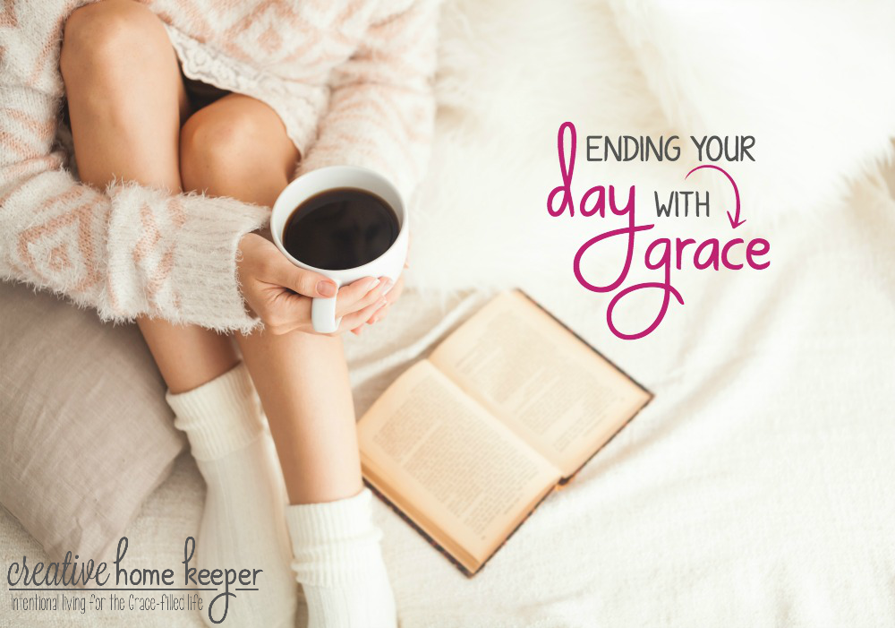 3 Questions to Help End Your Day with Grace: Ending your day with grace won't change anything that happened during the course of the day but it will change your heart, spirit, mood and perspective. It will remind you that God is in everything.
