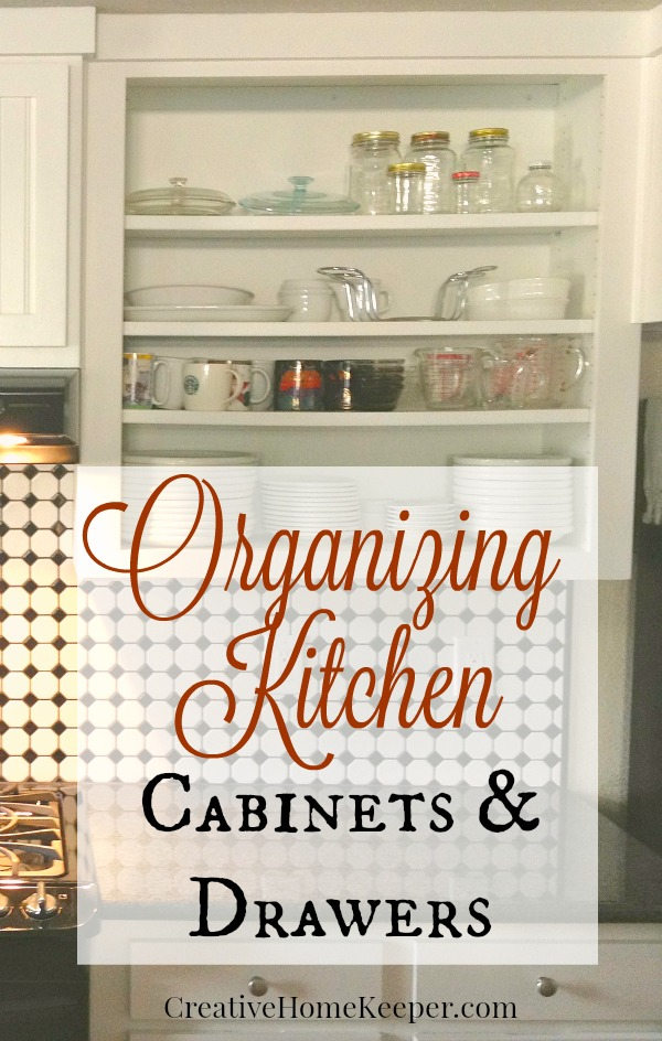 Organizing kitchen cabinets drawers creative home keeper Organizing kitchen cabinets and drawers