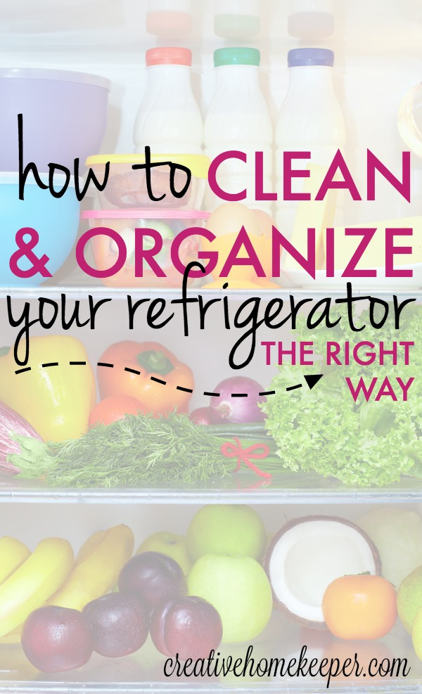 Have you ever wondered how to correctly clean and organize your refrigerator? This step-by-step comprehensive tutorial will not only walk you through the process of deep cleaning the inside and outside of your refrigerator and freezer BUT it also includes a complete guide of how to organize all the foods on each shelf and the function of each drawer! This is the ONLY refrigerator cleaning and organizing guide you will ever need!