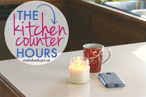 Tired of all the noise and distractions? Ready to be more present and intentional? The kitchen counter hours is the revolutionary way I started living more purposefully and focusing on the precious gifts right in front of me. Are you ready to try it too?