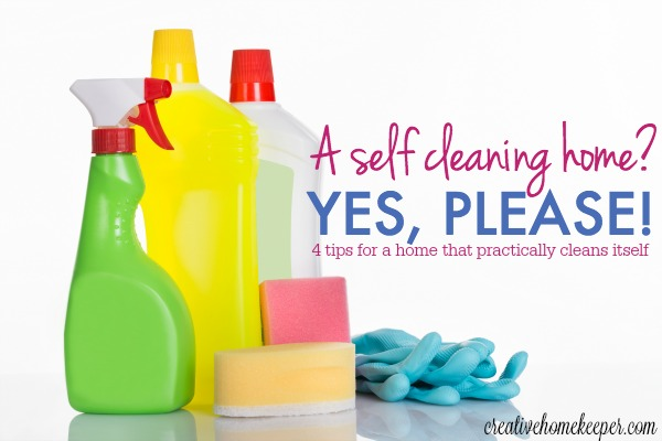 A Self Cleaning Home? {Yes Please!}